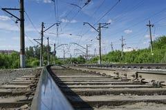 Der Bahnweg Stockfotografie
