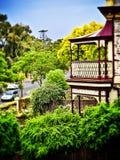 Der Balkon Stockfoto