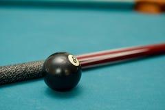Der Ball acht des Pool-Billard 8 Stockbilder