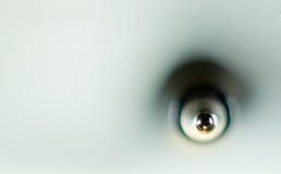 Der Ballstangenkugelschreiber im Makro Stockfotografie