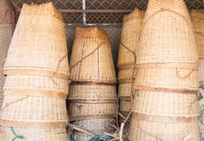 Der Bambuskorb Lizenzfreies Stockbild