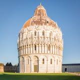 Der Baptistery von St. John Pisa Lizenzfreies Stockbild