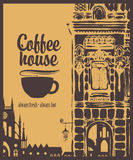 Der Barkellner bereitet sich für Cappuccino vor Lizenzfreie Stockfotos