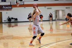 Der Basketball NCAA-Frauen Lizenzfreie Stockfotografie