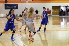 Der Basketball NCAA-Frauen Lizenzfreie Stockfotos