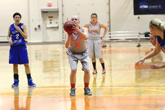Der Basketball NCAA-Frauen Lizenzfreies Stockfoto