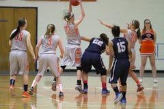 Der Basketball NCAA-Frauen Stockbilder