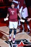 2015 der Basketball NCAA-Frauen - Tempel gegen Staat Delaware Lizenzfreie Stockfotos