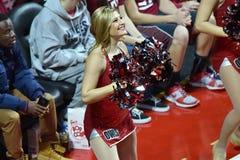 2015 der Basketball NCAA-Frauen - Tempel gegen Staat Delaware Stockfotos