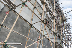 Der Bau Stockbild