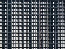 Der Bau - der Rahmen des Gebäudes Lizenzfreie Stockfotos