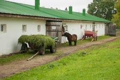 Der Bauernhof Stockfotografie