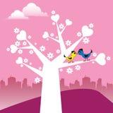 Der Baum der Liebe Stockbild