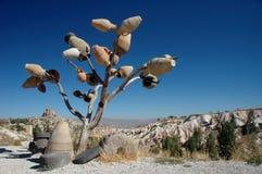 Der Baum der Vasen Stockbild