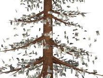 Der Baum des Geldes vektor abbildung