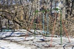 Der Baum fiel Lizenzfreie Stockbilder