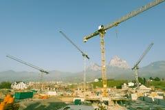 An der Baustelle Lizenzfreies Stockbild