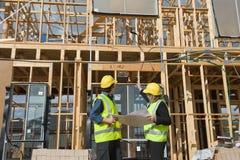 An der Baustelle Lizenzfreie Stockbilder