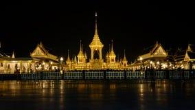 Der Begräbnis- Ort des Königs Rama9 von Thailand Stockfotos