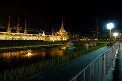Der Begräbnis- Ort des Königs Rama9 von Thailand Lizenzfreies Stockbild