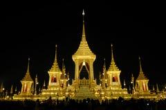 Der Begräbnis- Ort des Königs Rama9 von Thailand Stockfoto