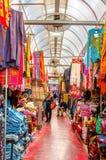 Der Bekleidungsmarkt in Jaffa Lizenzfreies Stockfoto