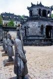 Der bemerkenswerteste Platz in Khai Dinh Tomb in Vietnam stockfotografie