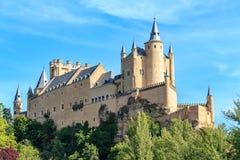 Der berühmte Alcazar von Segovia Lizenzfreies Stockbild