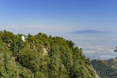Der berühmte Berg Wilson Observatory lizenzfreies stockbild