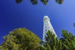 Der berühmte Berg Wilson Observatory lizenzfreie stockfotos