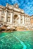 Der berühmte Trevi-Brunnen, Rom, Italien. Lizenzfreie Stockfotografie