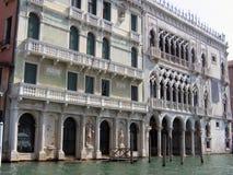 Der berühmtes Palast Ca D 'Oro stockbild