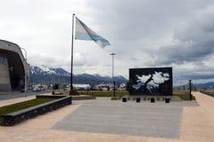 Der Bereich der Malvinas-Inseln in Ushuaia Lizenzfreie Stockbilder