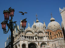Der Bereich von San Marco, Venedig, Italien stockbilder