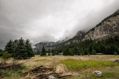 Der Berg im Sommer Stockfoto