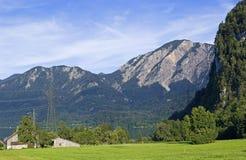 Der Berg Jochberg im Bayern Lizenzfreie Stockbilder