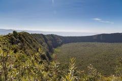 Der Berg Longonot-Krater Lizenzfreie Stockfotos