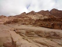 Der Berg von Mosese Stockbilder