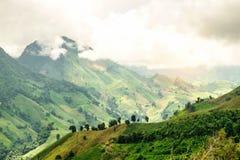 Der Berg von Nord-Thailand Lizenzfreies Stockfoto