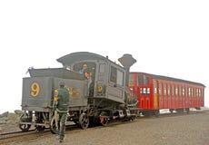 Der Berg Washington Train lizenzfreie stockbilder