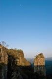 Der Berggipfel Südafrika Lizenzfreies Stockbild