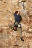 Der Bergsteiger 3 Stockfotografie