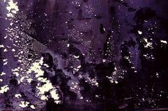 Der beschmutzte violette Hintergrund Stockfotografie