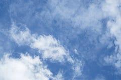 Der beträchtliche blaue Himmel Stockbild