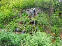 Der Beusnita-Wasserfall Lizenzfreie Stockbilder