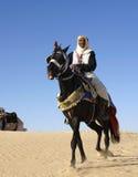 Der Bewohner der arabischen Welt Stockbild