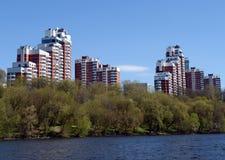 Der Bezirk Khoroshevo-Mnevniki im nordwestlichen Bezirk von Moskau Lizenzfreie Stockbilder