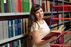 In der Bibliothek Lizenzfreies Stockbild
