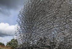Der Bienenstock und die Wolken Lizenzfreies Stockfoto