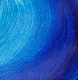 Der blaue Acrylhintergrund Stockfoto
